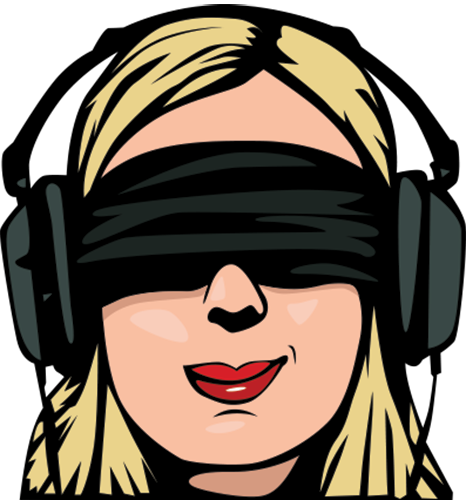 The Vaginal Massage Playbook/Variations: Using Blindfolds and Headphones